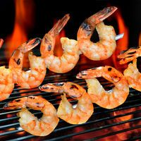 A spicy grilled shrimp marinade recipe that will give your grilled shrimp amazing flavor and just the right amount of spicy kick! Grilled Shrimp Marinade, Sauteed Shrimp, Fried Shrimp, Grilled Salmon, How To Saute Shrimp, Salmon And Shrimp, Shrimp Stir Fry, Barbeque Shrimp, Barbecue