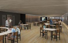 nova biblioteca: student proposal for bioclimatic library in brazil - designboom | architecture & design magazine