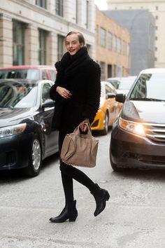 #MaartjeVerhoef getting back to black #offduty i NYC.