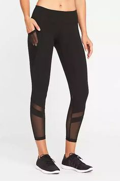 14 Leggings With Mesh For Those Of Us Who Really Sweat #refinery29
