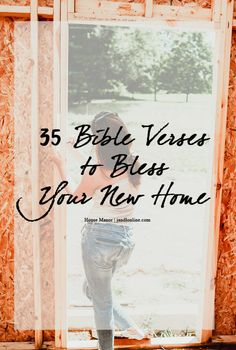 35 Bible Verses to Bless Your New House - JandLOnline