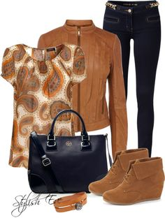 """Brown Outfit !"" by stylisheve on Polyvore"