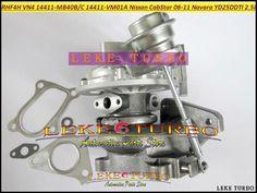Turbo RHF4H VN4 14411-MB40B 14411 MB40B 14411MB40B Turbocharger For NISSAN CabStar 2006-11 Navara D22 YD25DDTI DCI 2.5L 110HP