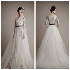 NW Bridal- Ersa Atelier 2015 Vintage Bridal Collection