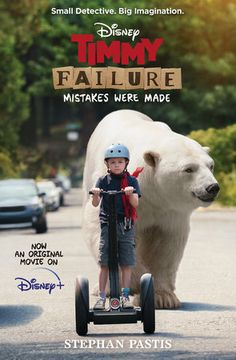 """Now an original film on Disney+    """"An endearingly pathetic antihero with delusions of greatness. . . . Seldomhas failure been so likable — or so funny."""" — The Wall Street Journal    Take Timmy Failure—the clueless, comically self-confident CEO of the bestdetective agency in town, perhaps even the nation. Add his impressively lazybusiness partner, a very large polar bear named Total, and what you have isTotal Failure, Inc. From the offbeat creator of Pearls Before Swine comes anendearingly bumbl 2020 Movies, New Movies, Movies To Watch, Movies Online, Movies Free, Latest Movies, Jesse Pinkman, Polar Bear Names, Reina Amidala"""