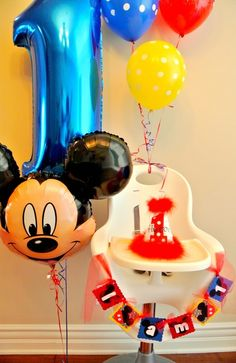 """Photo 6 of 23: Mickey Mouse / Birthday """"Mickey Mouse 1st Birthday"""" 