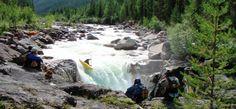 Kayaking Baikal region, Russis, Siberia