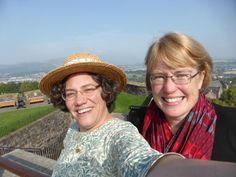 at Stirling Castle with Elizabeth Tyler