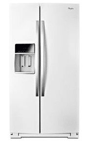 White Ice Counter Depth Side-By-Side Refrigerator