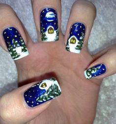 Nail Art Designs for Winter
