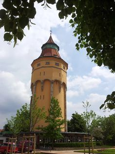 Another view of the beautiful Tower in Rastatt