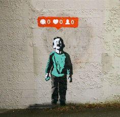Social Media Culture Meets Street Art – Fubiz™