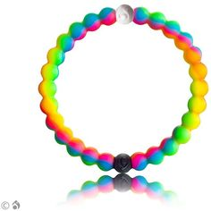 Get a Neon Lokai Bracelet now ($18) ❤ liked on Polyvore featuring jewelry, bracelets, sparkle jewelry, neon bangles and neon jewelry