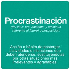 Procrastinación - estado natural del ser humano :D Y Words, Weird Words, Rare Words, More Than Words, Cool Words, Spanish Lesson Plans, Spanish Lessons, Spanish Vocabulary, Teaching Spanish