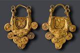 IBERIA. (Pre-Roman Spain) - Pendientes de oro. Tribus íberas s. II a. C. Penísula Ibérica.