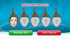Spread some holiday cheer - turn your friends & family into dancing elves :)