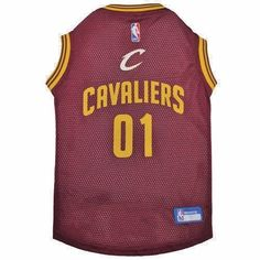 6689dab51d7 New Cleveland Cavaliers Officially Licensed NBA Dog Pet Mesh Red Jersey NWT   PetsFirst Cleveland Caveliers