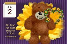 Juni, Teddy Bear, Night, Day Of Year Calendar, February, Friends, Teddy Bears