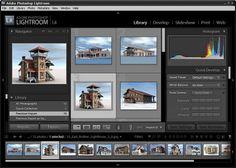Adobe Lightroom GUI