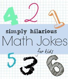 Looking for funny jokes for kids? to make your school days rememebring again. There are top 20 hilarious school jokes for kids i am sharing. Funny Math Jokes, Funny Jokes For Kids, Math Humor, Kid Jokes, Science Jokes, Funny Puns, Maths Guidés, Fun Math, Math Activities