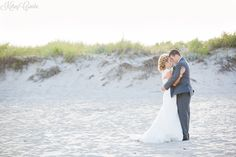 gorgeous beach wedding #wedding #photography #beach // Kelsey Combe Photography