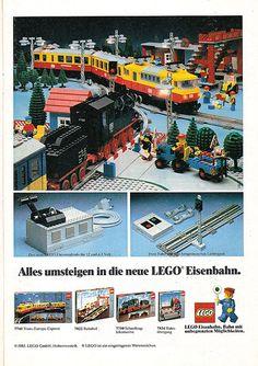 Vintage Toy Advertisements of the (Page Vintage Lego, Vintage Stuff, Classic Lego, Lego Display, Lego System, Lego Trains, Lego Bionicle, Lego Architecture, Lego Models