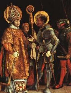 Saint Maurice:Tarik Ibn Zayid led 300 Arabs and 6700 Africans in conquering Spain around 700 A.D.