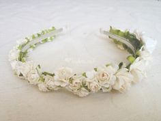 Corona flores y tocados
