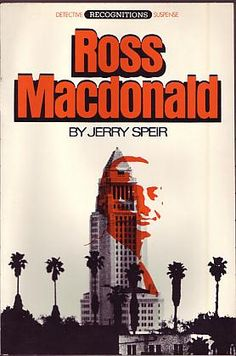 Speir, Jerry - Ross Macdonald    F. Ungar Pub Co New York 1978 ISBN 0804468710. First edition.  A near fine paperback book. Line on front cover, which appears to be printing error