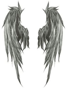 Wings - Back tattoo