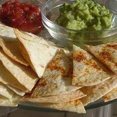 Baked Tortilla Chips Recipe