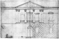 The Queen's House, Greenwich  Architect: Inigo Jones (c. 1615)  Source: RIBA British Architectural Library Drawings & Archives Collection