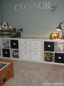 Toy Organization.... perfect... I like things to look clean without looking cheap and trashy...