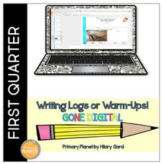 Digital Writing Logs/Warm-ups are quick fun writing activities to get your students' creative juices flowing! These are paperless! Perfect for morning work, right before you start Writer's Workshop or your writing block. They work with Google Drive and Microsoft One Drive! Writing logs make great homework! Great way to supplement your writing curriculum! Tasks to reinforce nouns, commas in a series, characters, editing, revising, descriptions, leads, voice, opinion, synonyms, and ideas.