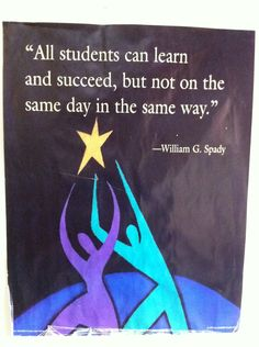 Terrific quote for teachers by William G. Kids aren't robots. They're all unique: different languages, literacy skills, religions, family structures, likes/dislikes, experiences... And that affects their actions in your class. Be aware, be considerate, be patient, and be HELPFUL.