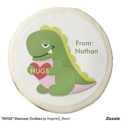 Sink your teeth into a Dozen cookie from Zazzle. Choose from chocolate covered Oreo, shortbread, or sugar cookies! Dinosaur Cookies, Chocolate Covered Oreos, Valentine Treats, Sugar Cookies, Hugs, Inspiration, Big Hugs, Biblical Inspiration, Inhalation
