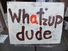 Sign on street in Harajuku, Tokyo
