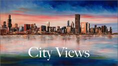 City and Cityscape Artwork. Affordable and Original.