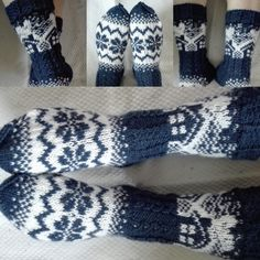 Mökkisukat Wool Socks, Knitting Socks, Norwegian Knitting, Stocking Tights, Drops Design, Fingerless Gloves, Arm Warmers, Mittens, Chrochet