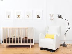 #OeufNYC Rhea bed - lit barreaux bébé - chambre enfant #kids #baby #crib #room - More on www.identitebook.com