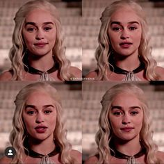 Emilia as daenerys The Mother Of Dragons, Emilia Clarke Daenerys Targaryen, Avatar, Tauriel, Caroline Forbes, Valar Morghulis, Khaleesi, Badass Women, Grunge Hair