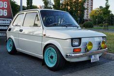 fiat 126p tuning Fiat 126, Fiat Cars, Car Polish, Steyr, Mini Trucks, Small Cars, Retro Cars, Custom Cars, Classic Cars