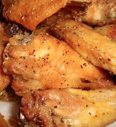 Lemon Garlic Pepper Wings - Recipe, BBQ, Grilling, Chicken, Main Dish, Low Carb, Atkins Diet