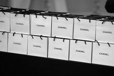 Fashion backstage at Chanel fall winter 2012 // Photos by Olivia da Costa