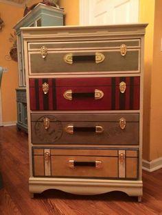 Suitcase dresser by millie
