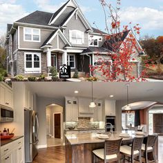 Architectural Designs House Plan 73369HS has an open floor plan and a sport court in the basement. 5 beds and 4,200 square feet.