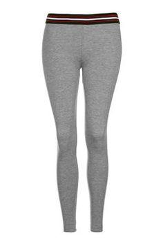 PETITE Sporty Elastic Leggings