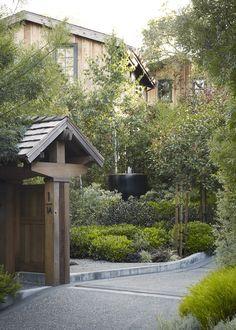 Mill Valley residence, CA. Urrutia Design.