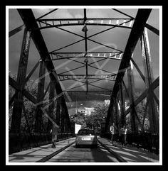 Puente colgante. Valladolid.