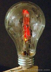 Lightbulb terrarium - how to hollow out a lightbulb